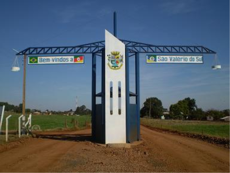 São Valério do Sul Rio Grande do Sul fonte: www.saovaleriodosul.rs.gov.br